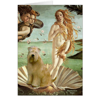 Birth of Venus - Wheaten Terrier 10 Greeting Cards
