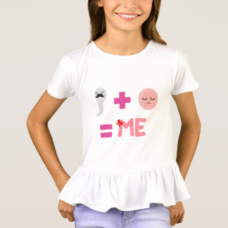 Birth Process Girls' Ruffle T-Shirt
