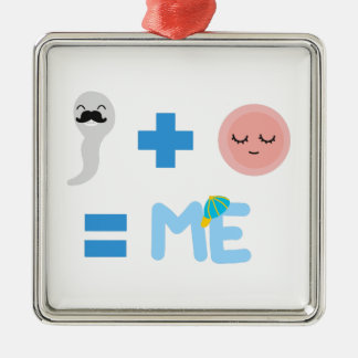 Birth Process Premium Square Ornament