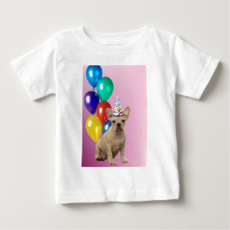Birthay French Bulldog Baby T-Shirt