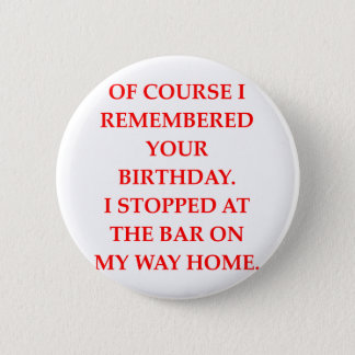 birthday 2 inch round button