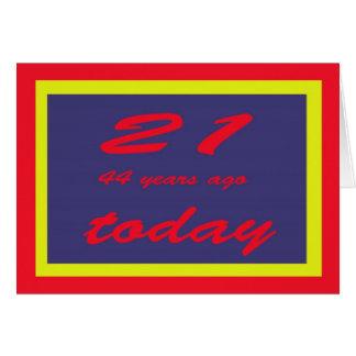 birthday 65th card