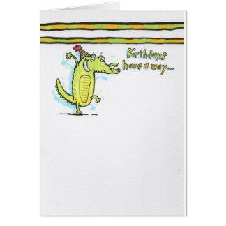 Birthday 7 card