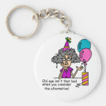 Birthday Alternative Humour Keychain