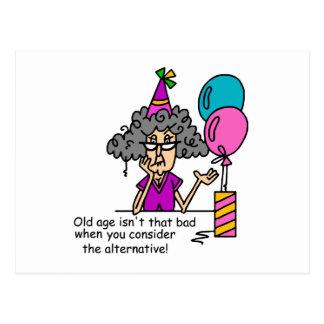 Birthday Alternative Humour Postcard