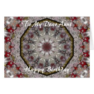 Birthday Aunt Card