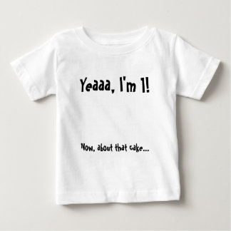 Birthday Baby Cake Eating Shirt