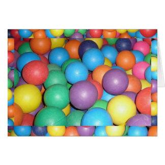Birthday Ball 5 Card