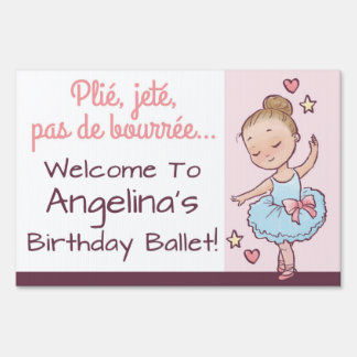 Birthday Ballet Little Ballerina Girl Party Decor