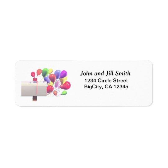 Birthday Balloon Mail