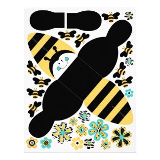 Birthday Bee Favor Box B Flyer