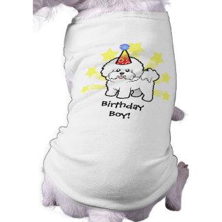 Birthday Bichon Frise Dog Clothes