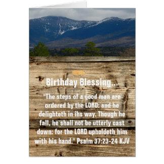 Birthday Blessing Card