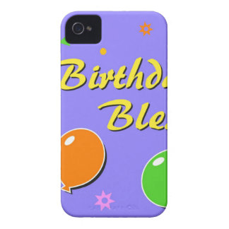 Birthday Blessings iPhone 4 Case