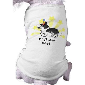 Birthday Border Collie Pet T Shirt