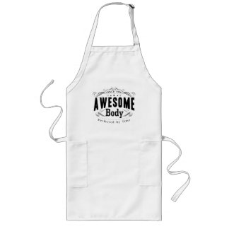Birthday Born 1970 Awesome Body Long Apron