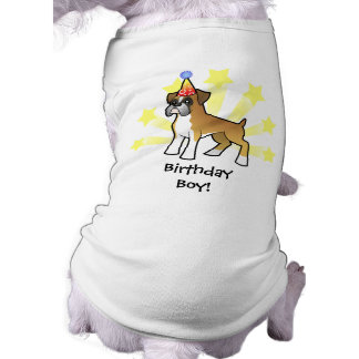 Birthday Boxer Dog Clothes