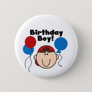 Birthday Boy 2 Inch Round Button