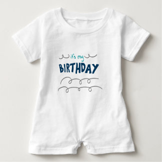 Birthday Boy Baby Romper