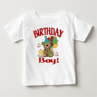 Birthday boy bear baby T-Shirt