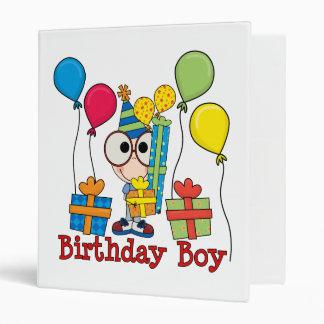Birthday Boy Binder
