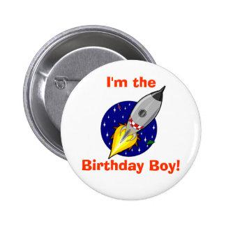 Birthday Boy Button