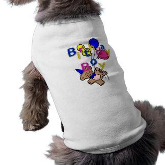 birthday.boy tee-shirt pour animal domestique