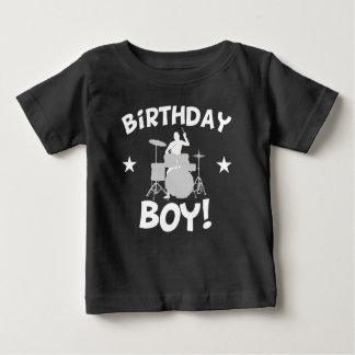Birthday Boy Drummer Baby T-Shirt
