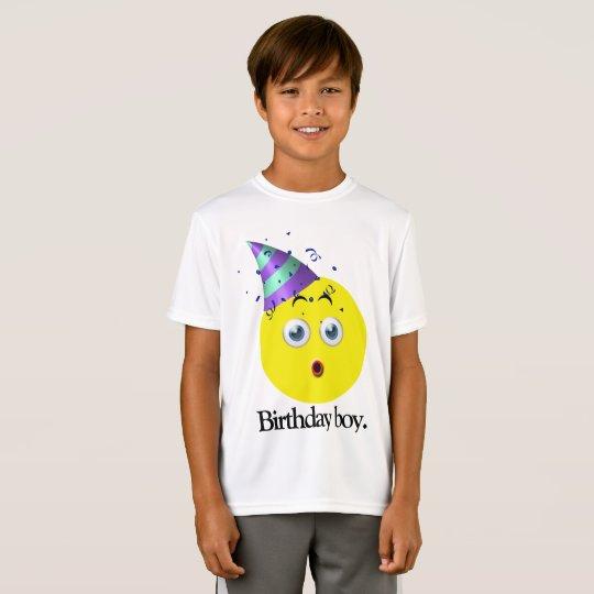 Birthday Boy Emoji T-Shirt
