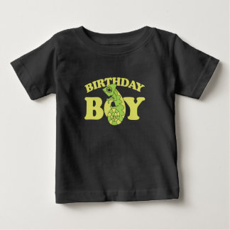 birthday boy lizard chameleon baby T-Shirt