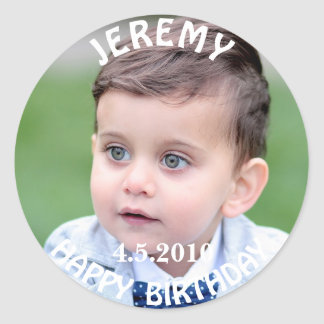 Birthday Boy Photo Sticker