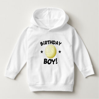 Birthday Boy Volleyball Hoodie