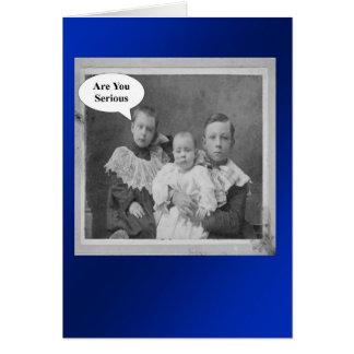 Birthday Brothers - Retro Card