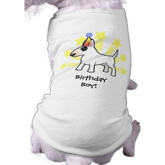 Birthday Bull Terrier Doggie Tee