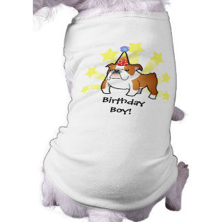 Birthday Bulldog Pet Clothes