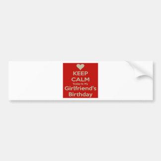 birthday bumper sticker