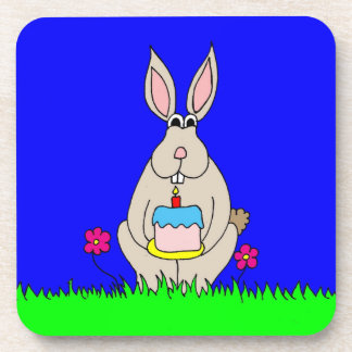 Birthday Bunny Coaster
