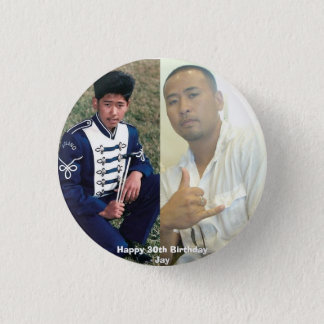 Birthday button - Customized