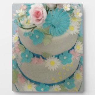 Birthday cake 1 plaque