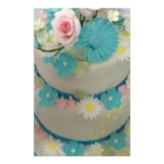 Birthday cake 1 stationery