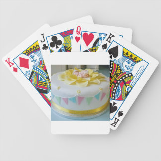 _birthday cake 2 bicycle playing cards