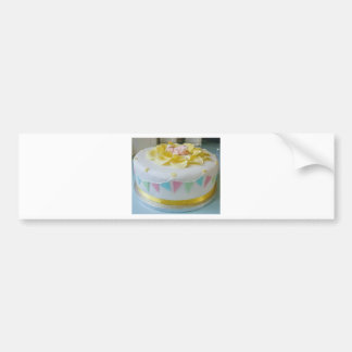 _birthday cake 2 bumper sticker
