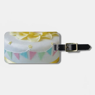 _birthday cake 2 luggage tag