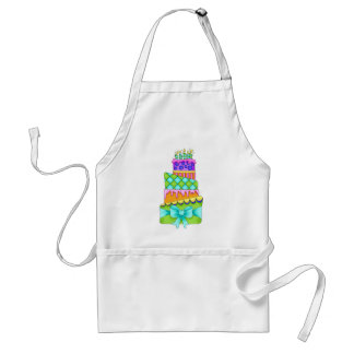 Birthday Cake Apron - (Cake Only)