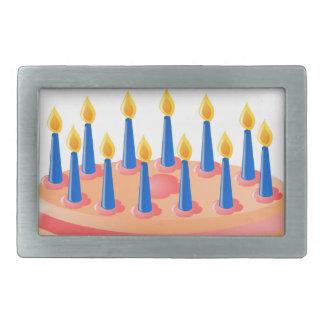 Birthday Cake Belt Buckle