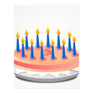 Birthday Cake Letterhead
