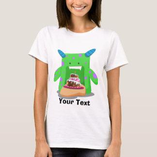 Birthday Cake Monster T-Shirt