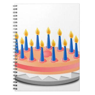 Birthday Cake Notebook