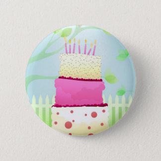 Birthday cake pins