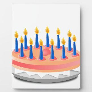 Birthday Cake Plaque